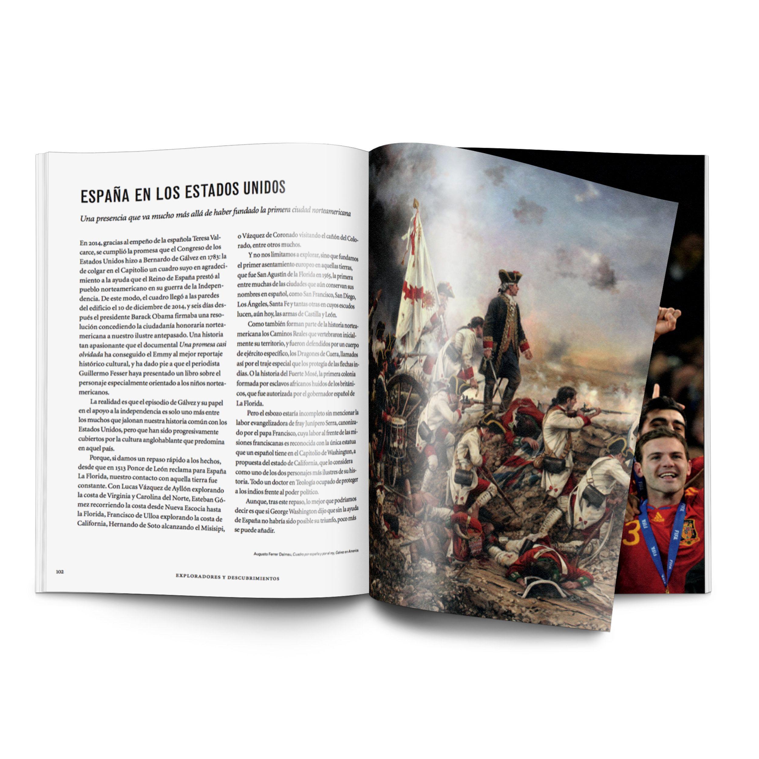 Fotografia Interior Libro 100% España