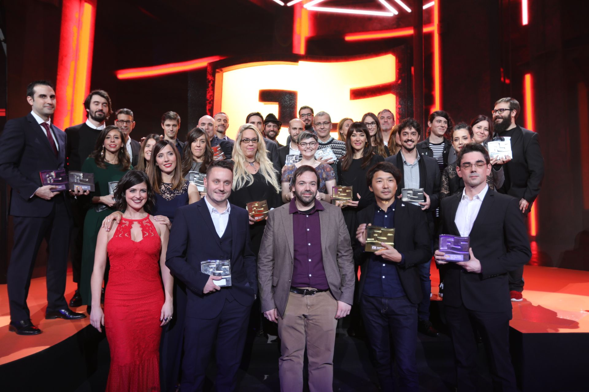 Foto de Ganadores de los premios Fun and Serious Game Awards 2018