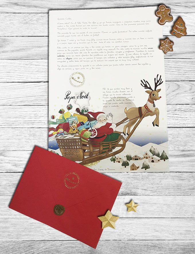 Fotografia Carta Personalizada de Papá Noel
