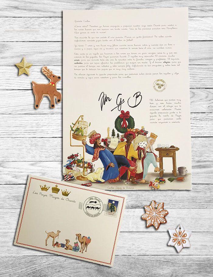 Fotografia Carta personalizada de los Reyes Magos