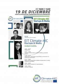 Periodistas y emprendedores debatirán en Santiago de Compostela en la primera edición del EIT Climate KIC Startups & Media