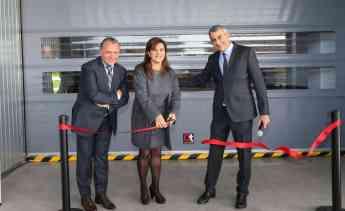 Foto de Momento simbólico de inauguración de las instalaciones