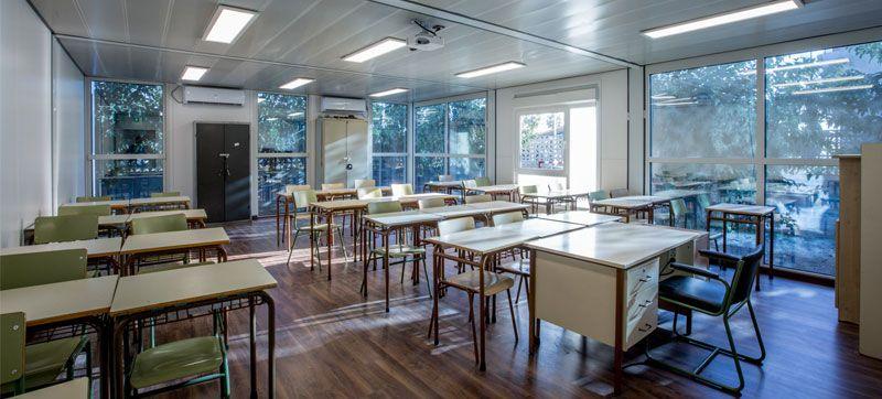 Fotografia Aula Colegio Modular 2