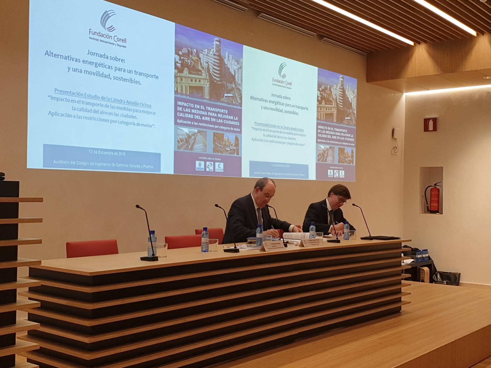 Foto de Presentación Estudio Fundación Corell