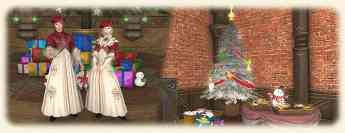 Evento navideño Starlight Celebration en FFXIV