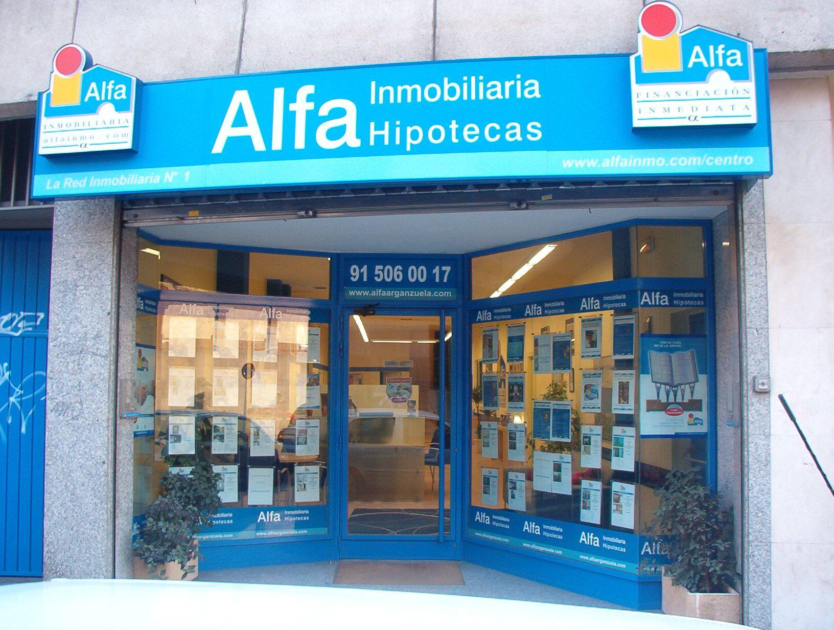 Foto de Fachada de agencia Alfa Inmobiliaria