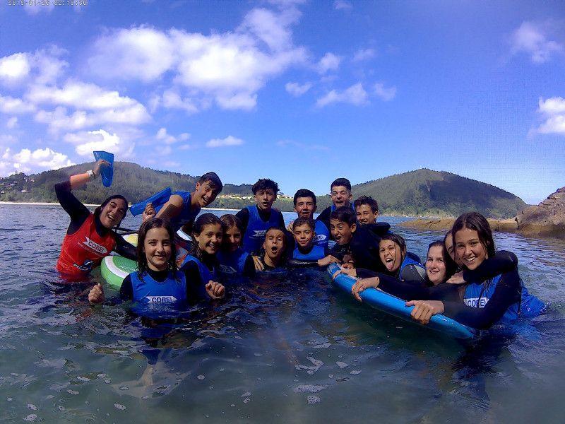 Fotografia Surf camp en Galicia