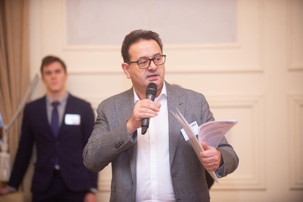 Foto de Eduard Gulyan, CEO de la Alianza de Comercio Euroasiática