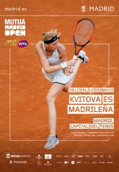 Kvitova es madrileña | Mutua Madrid Open | Indira