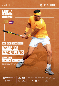 Foto de Rafa es madrileño | Mutua Madrid Open | Indira