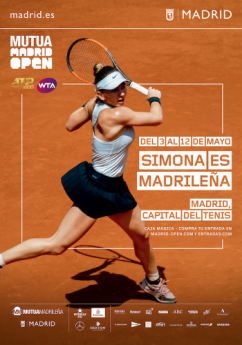Foto de Simona es madrileña | Mutua Madrid Open | Indira