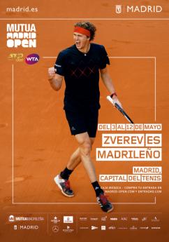 Foto de Zverev es madrileño| Mutua Madrid Open | Indira
