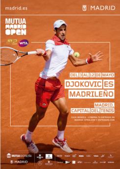 Foto de Djokovic es madrileño| Mutua Madrid Open | Indira