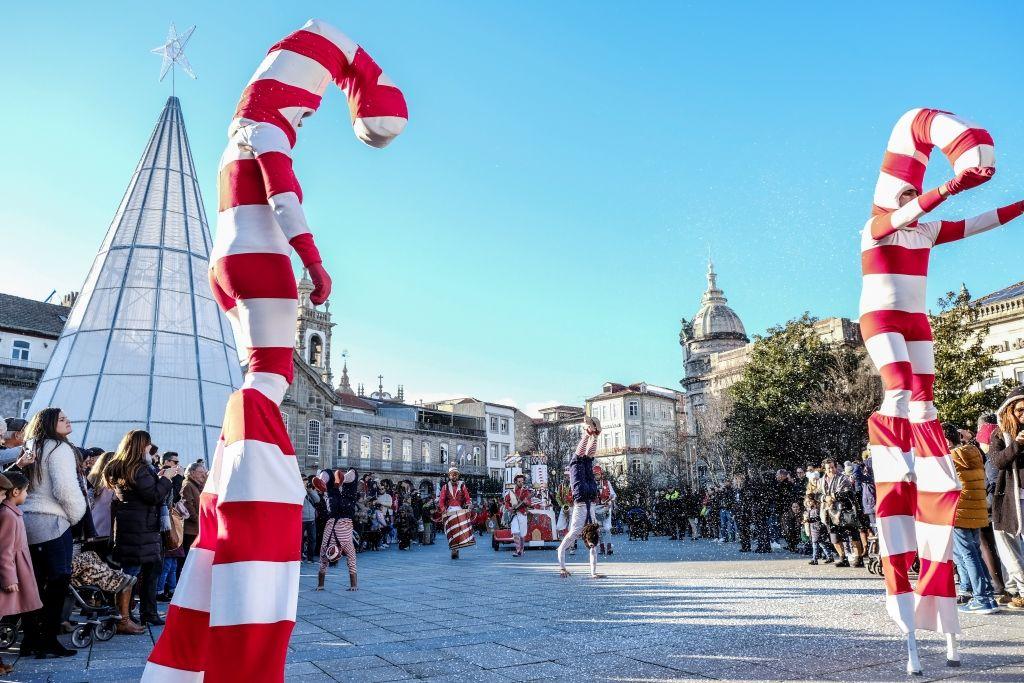 Fotografia Navidad en Braga