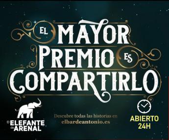 Lotería Arenal 16 abre 24h para el sorteo de Navidad