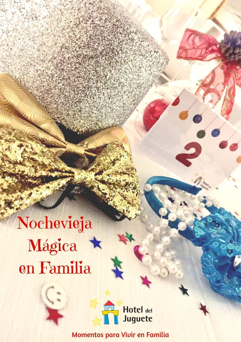 Fotografia Nochevieja en Familia en el Hotel del Juguete