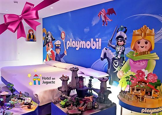 Fotografia Habitación Temática Playmobil