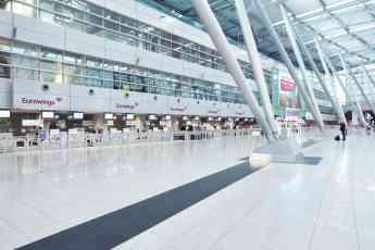 Eurowings ofrece la facturación automática de equipaje en el aeropuerto de Hamburgo