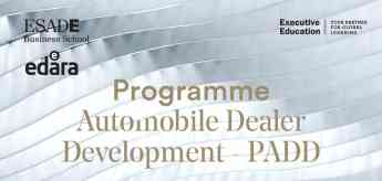 PADD Program Automobile Dealer Development 2019