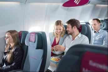 Eurowings renueva su oferta gastronómica en su servicio a bordo
