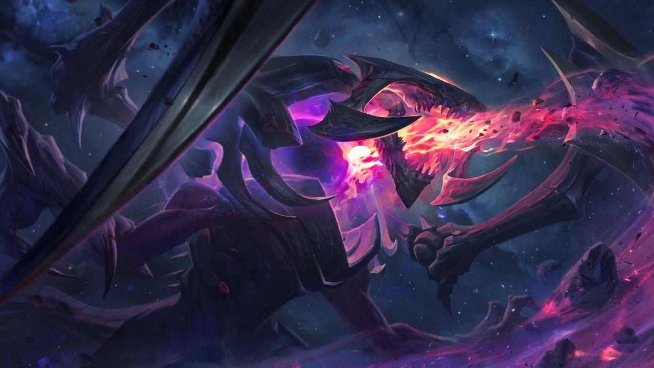 Fotografia Cho Gath Estrella Oscura,de League of Legends, Riot