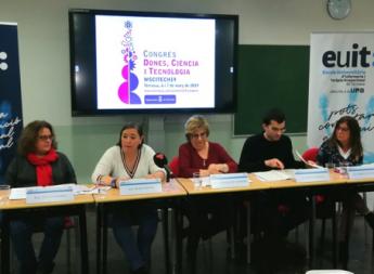 Foto de Eva Fernández, Gracia García, Montserrat Comellas, Adrián