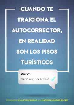Madrid Aloja se moviliza con la campaña de Madrid para Todos a favor de las Viviendas de Uso Turístico