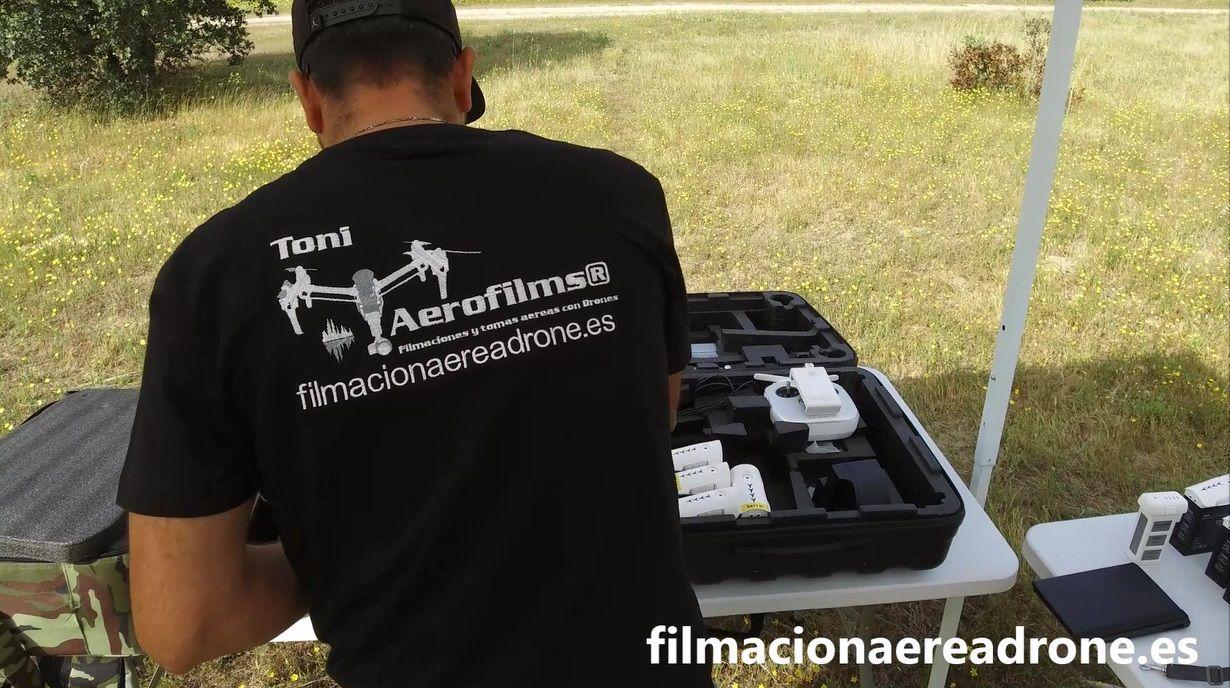 Foto de empresa de drones y grabaciones aereas