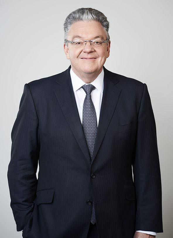Foto de John Pearson, CEO de DHL Express