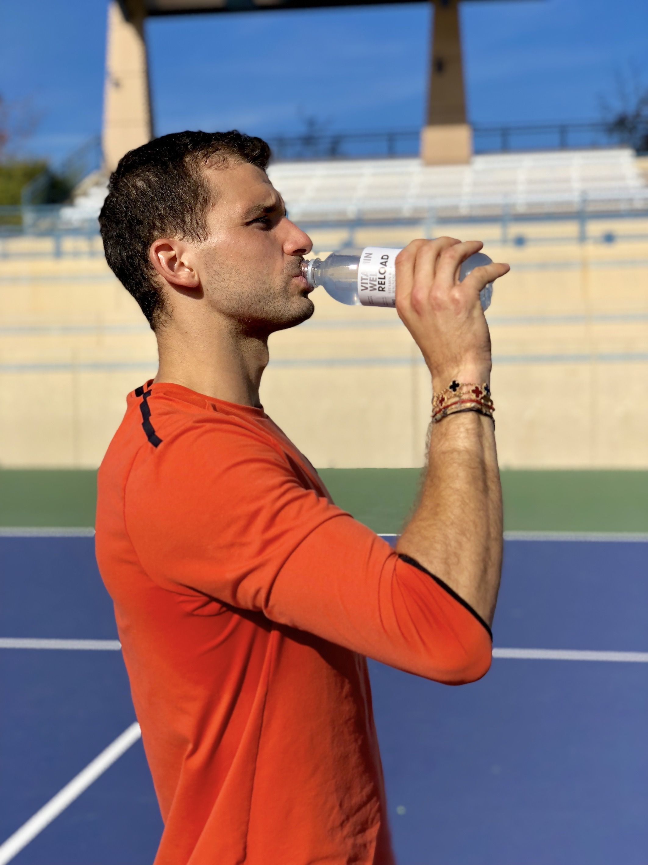 Foto de Grigor Dimitrov nuevo embajador global de Vitamin Well