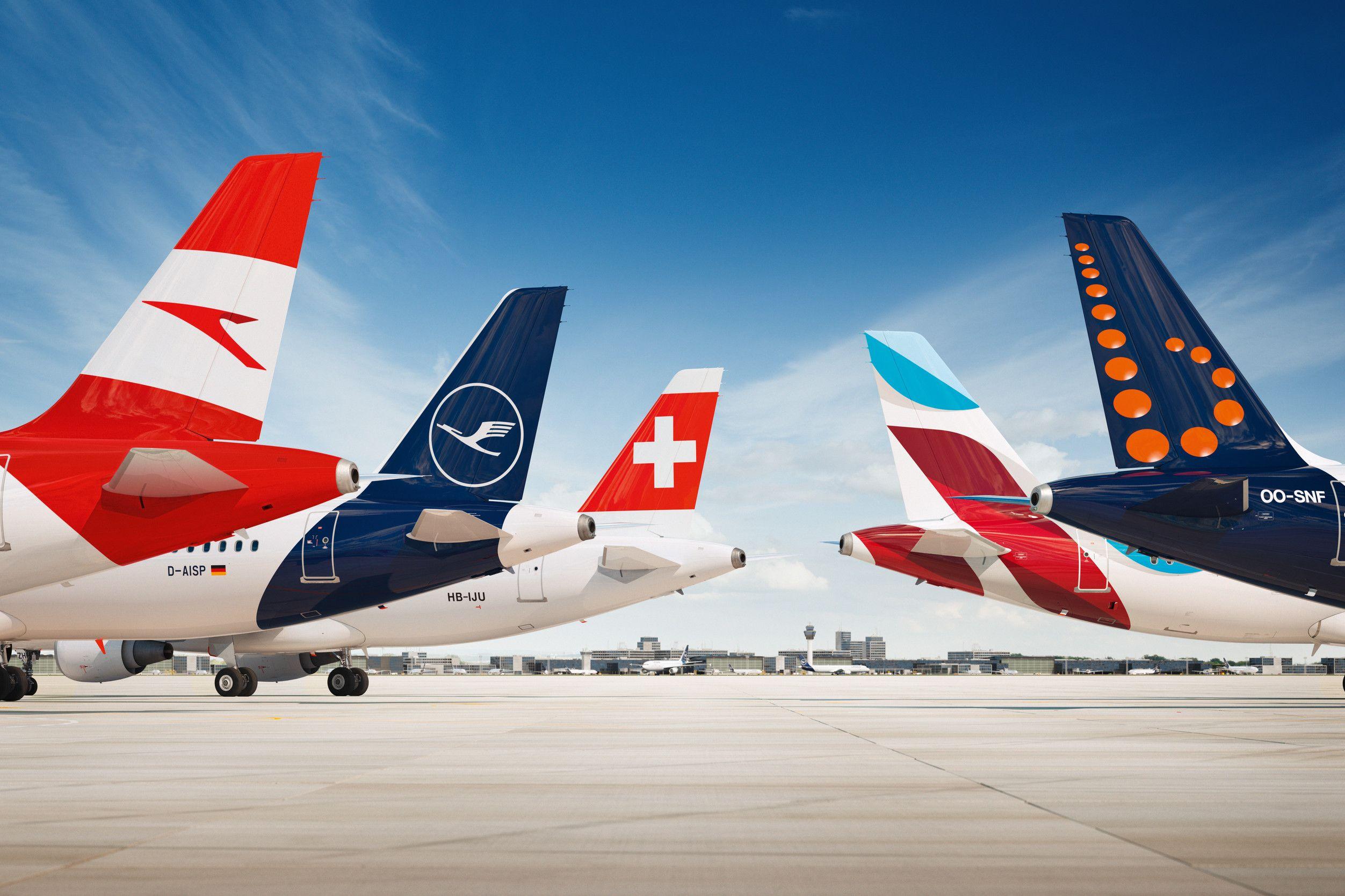 achtung! se lleva la cuenta global del Grupo Lufthansa