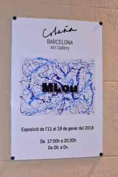 La pintora MLou expone en Barcelona