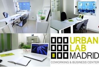 Espacios de Coworking, la innovación en espacios de trabajo en Urban Lab Madrid