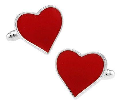 Foto de Gemelos corazon rojo