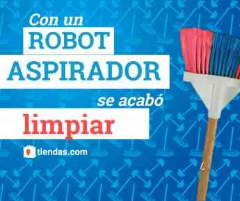 Olvidarse de aspirar a diario con un robot aspirador es posible, según tiendas.com