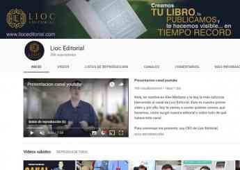 canal de youtube de Lioc Editorial
