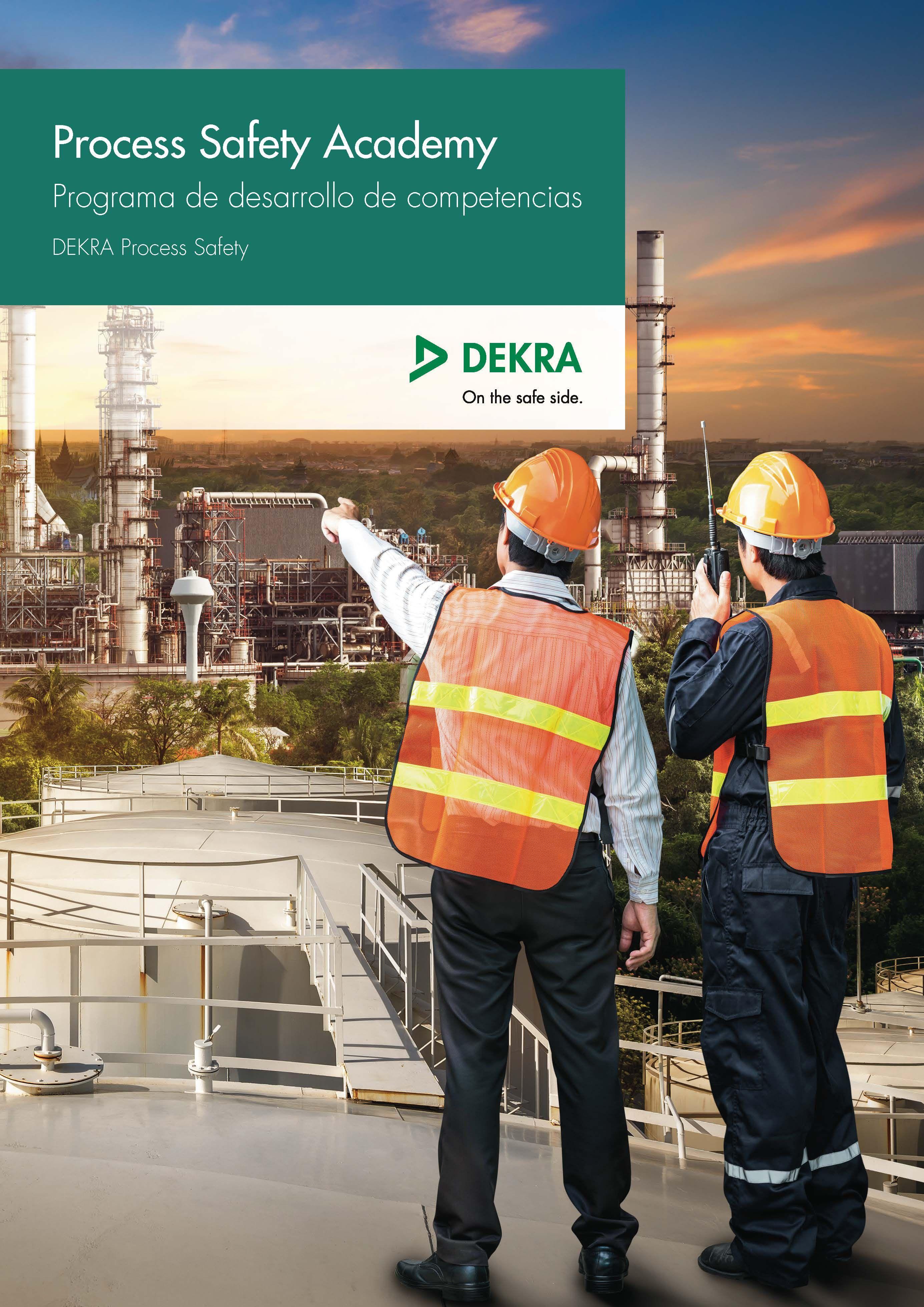 Foto de Catálogo de formación 2019- DEKRA Process Safety Academy