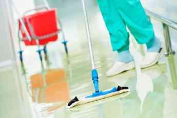 Servicio de limpieza en hospitales y centro médicos