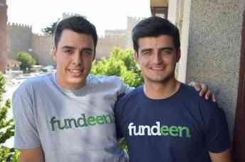 Nacho y Adrián Bautista, fundadores de Fundeen