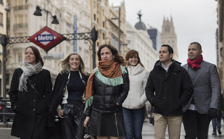 Foto de Equipo Holiday World en Madrid presentando su nueva imagen de