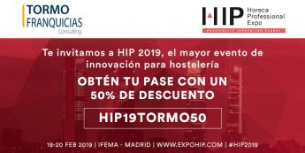 Tormo Franquicias Consulting se convierte en Supporter Partner de Horeca Professional Expo