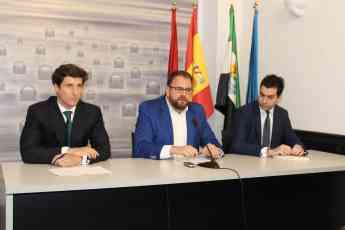 Presentación nueva planta fotovoltaica en Mérida (Badajoz).