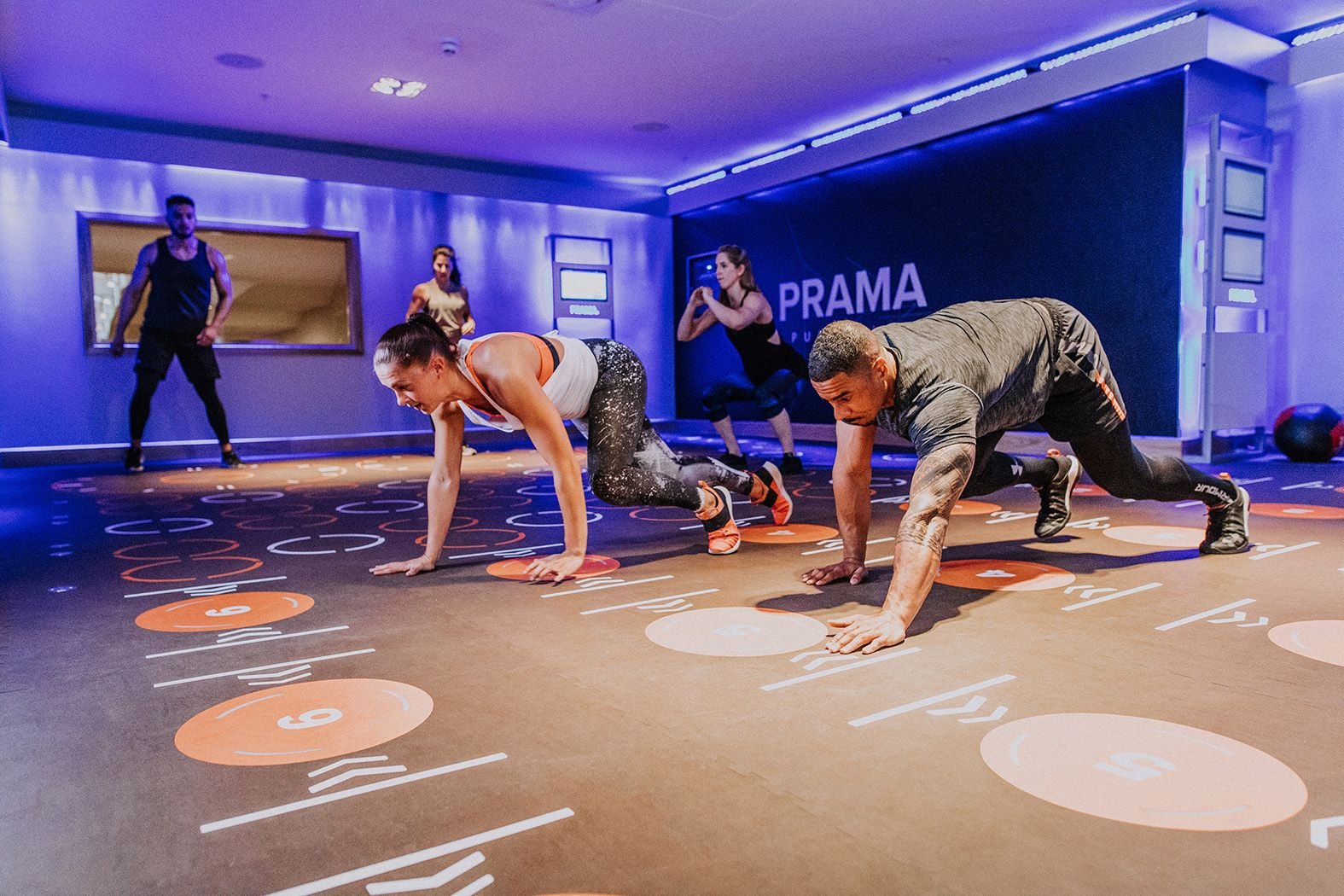 Foto de Uno de los centros PRAMA Fitness.