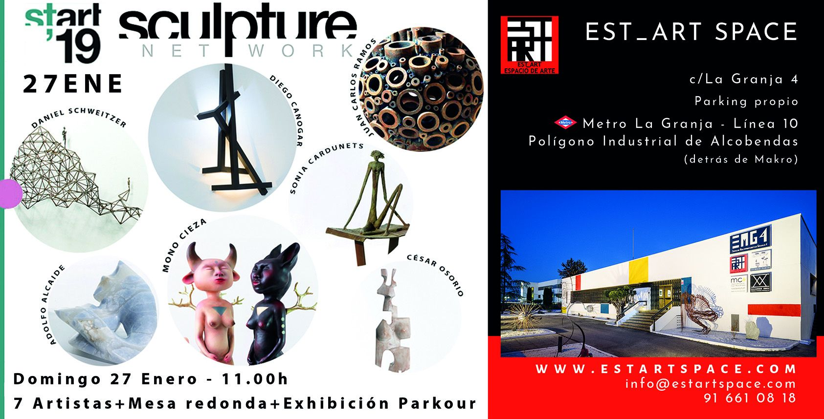 Foto de SCULPTURE NETWORK START19 en EST_ART
