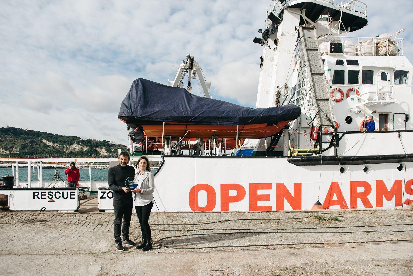 Foto de La entrega del galardón tuvo lugar ayer en el puerto de