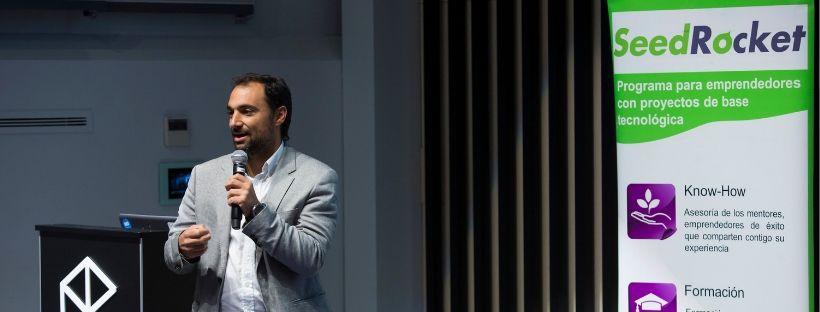 Foto de Jesús Monleón, mentor y cofundador de SeedRocket,