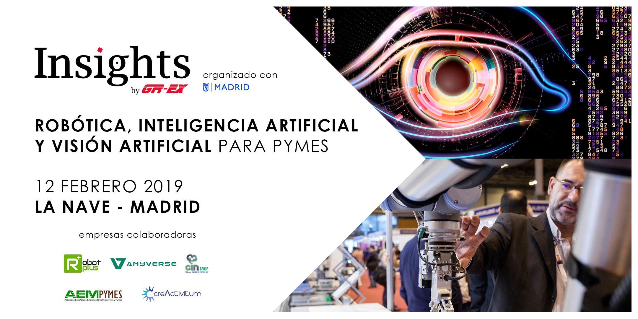 Foto de Insights by GR-EX : Robótica, Inteligencia Artificial y
