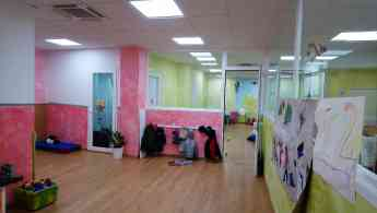 Escuela infantil y ludoteca en un mismo espacio en Madrid