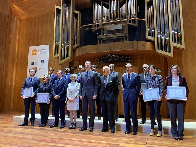 Foto de Entrega de premios Codespa