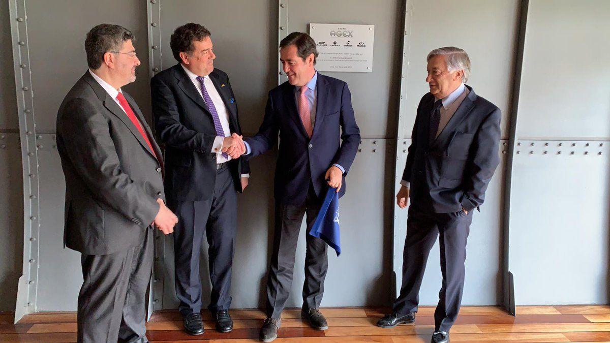 Foto de Inauguración oficinas AGEX